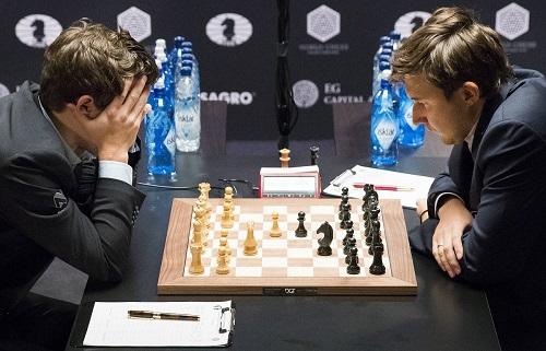 Начало партии в шахматах